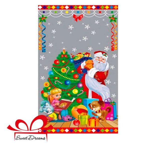 Фото Новогодние подарки под елку от деда Мороза