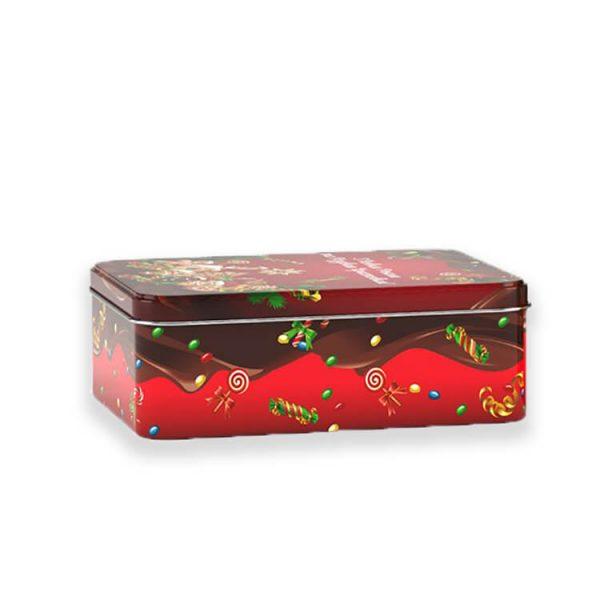 Жестяная коробочка наполненая конфетами