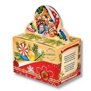 сладкий подарок на новогодние праздники