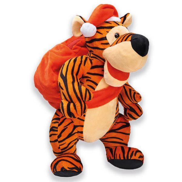 Сладкий новогодний подарок Тигр с рюкзаком, 600 г.