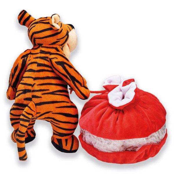 Сладкий новогодний подарок Тигр с сумкой, 700 г.